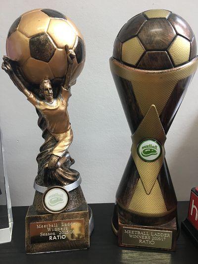 Ratio; 2016 & 2017 Meetball Trophy's