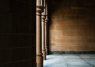 Pillars and walls